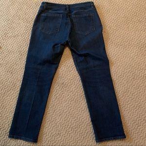 LOFT Jeans - Loft Curvy Straight Jeans Size 31/12